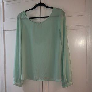 Forever 21 long sleeve blouse